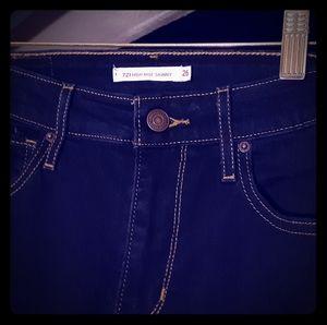 721 Levi's skinny Jean's
